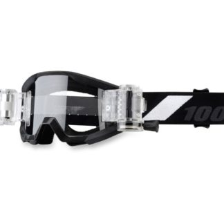 100% Strata Goliath Goggle - Junior brille - Klart glass One, sort