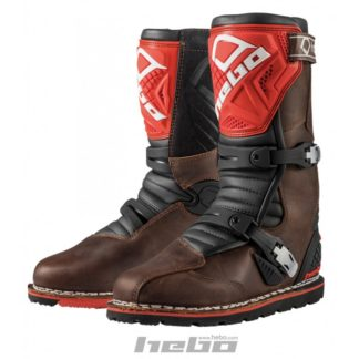 Hebo TECHNICAL 2.0 Boots - Trial - Brun/Rød